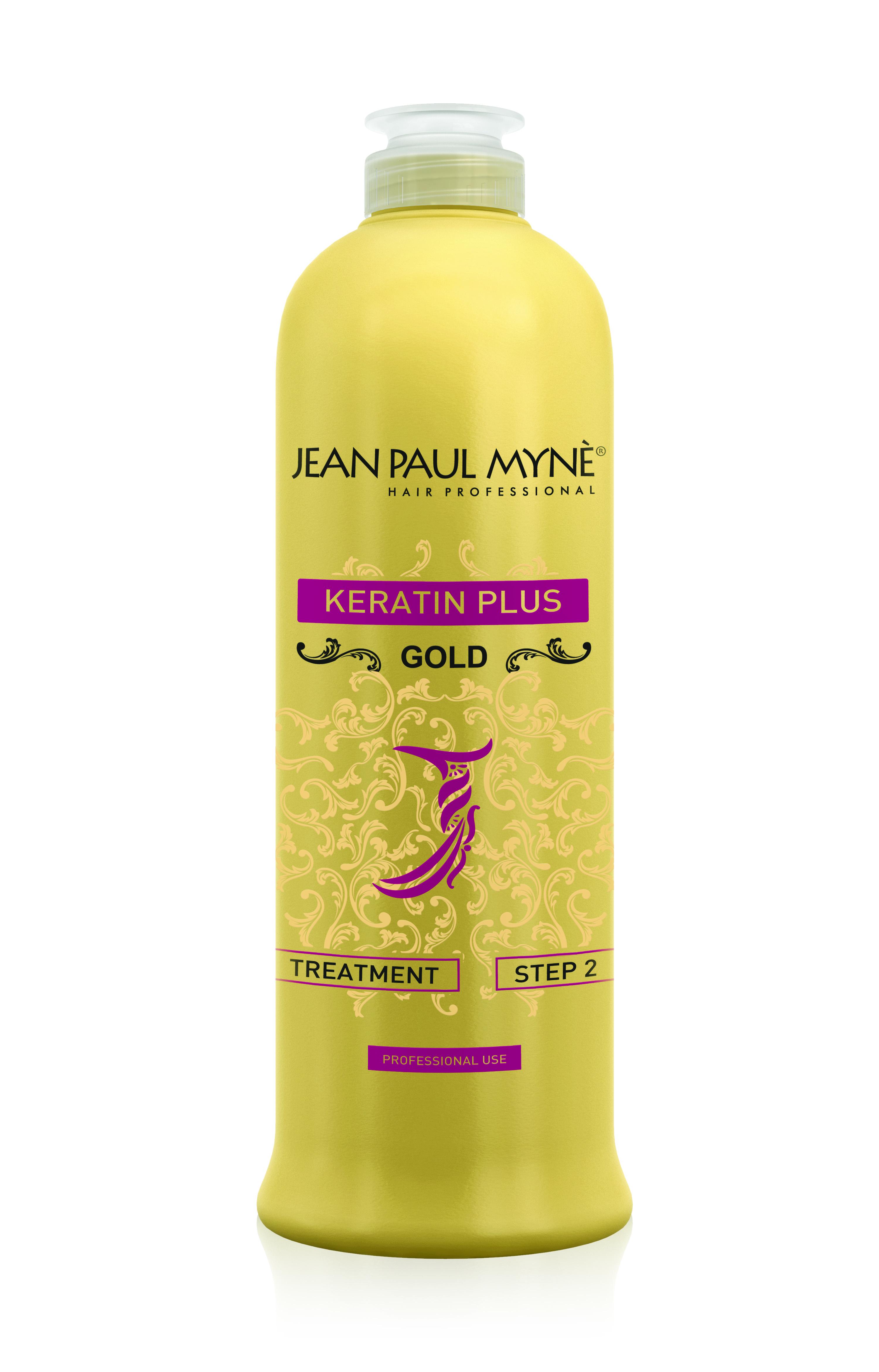 De ideale behandeling voor jouw haar met Keratin Plus Gold